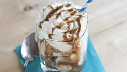 Stout-Caramel Ice Cream Sundaes