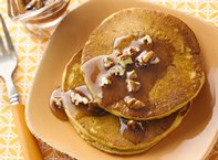 Spicy Pumpkin Pancakes
