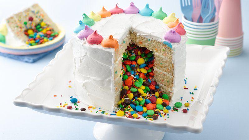 Betty Crocker Rainbow Cake