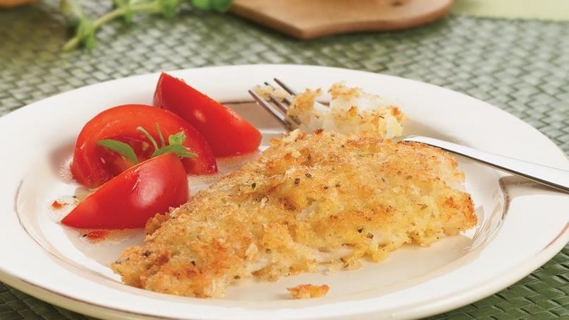 Crispy Herbed Fish Fillets