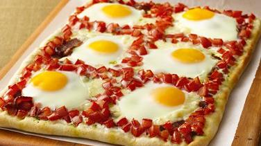 Savory Breakfast Pizza