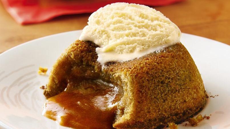 Molten Dulce de Leche Cakes | QueRicaVida