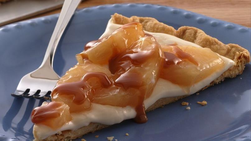 Easy Caramel Apple Tart