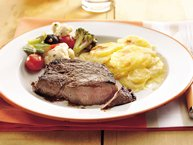 Pan-Seared Sirloin Steak