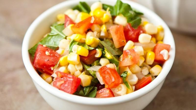 Basil-Corn Salad