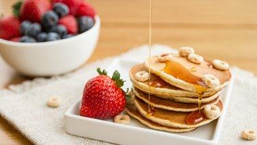 Cheerios™ Cereal Mini Pancakes