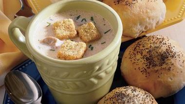 Sherried Mushroom Bisque