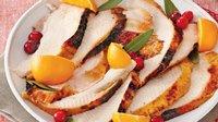 Turkey Breast with Cranberry-Orange Glaze