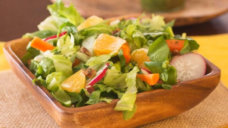 Chopped Salad with Lime-Cilantro Vinaigrette
