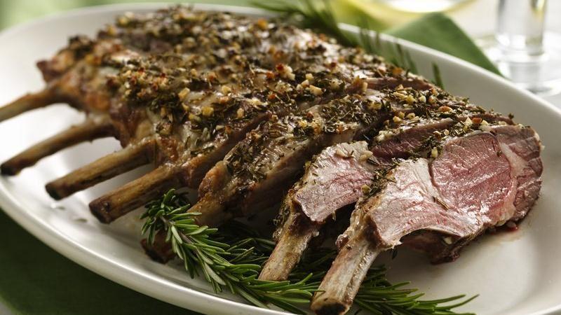 Herbed Rack of Lamb