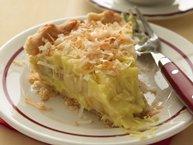 Banana-Coconut Cream Pie with Buttermilk Crust