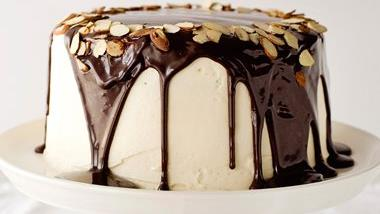 Irish Cream Celebration Cake