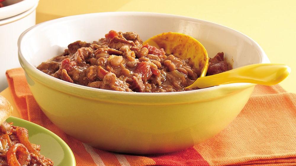 Texas-Style Cowboy Beans