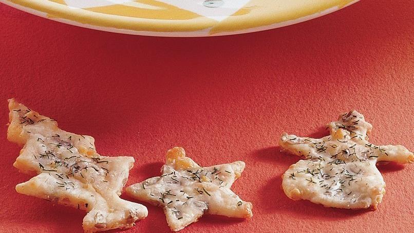 Nutty Cheddar Crackers