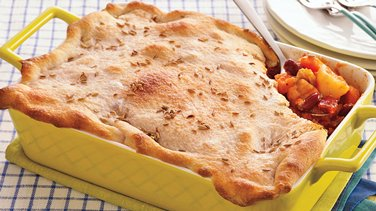 Roasted Vegetable Pot Pie