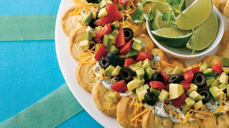 Taco Crescent Wreath