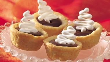 Chocolate-Caramel Tartlets