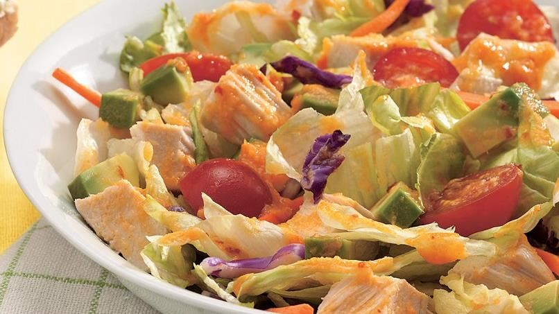 Chicken Salad with Pineapple-Chipotle Dressing