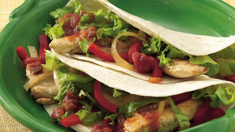 Fresh Chicken Fajitas