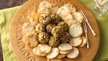 Mini Middle Eastern Cheese Balls