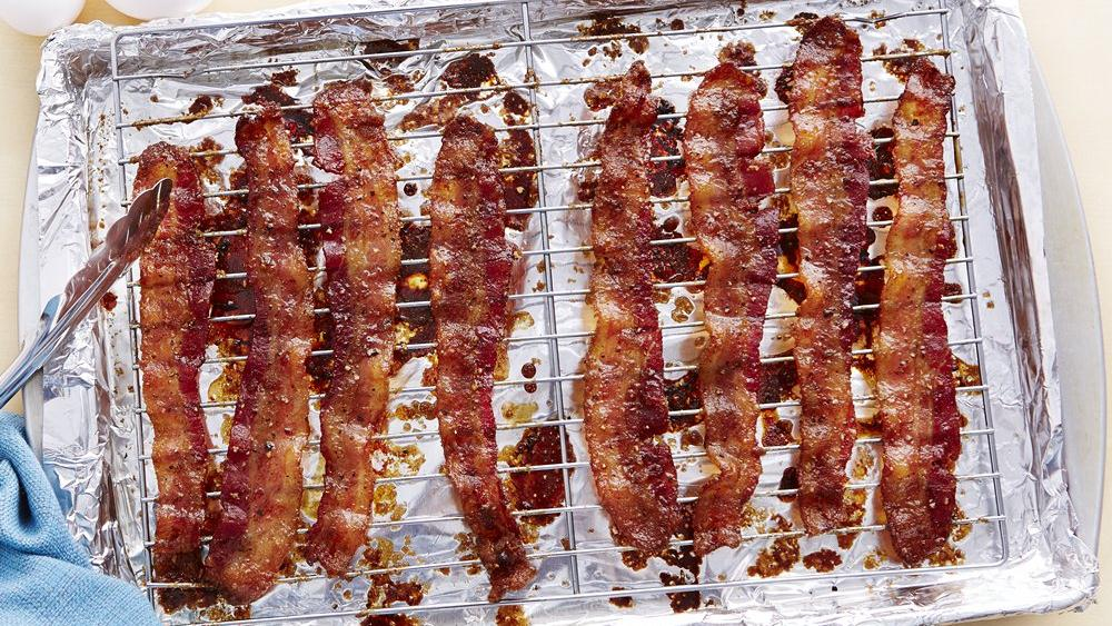 Peppered Brown Sugar Bacon