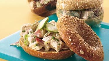 Bagel Shop Chicken Salad Sandwiches