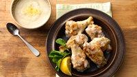Creamy Parmesan-Garlic Chicken Wings