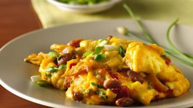 Slow-Cooker Layered Huevos Rancheros