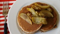 Apple Cinnamon Bisquick Pancakes