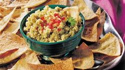Artichoke Tapenade with Pita Chips