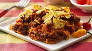Layered Mexican Casserole