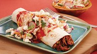Barbecue Pork Enchilada Bake