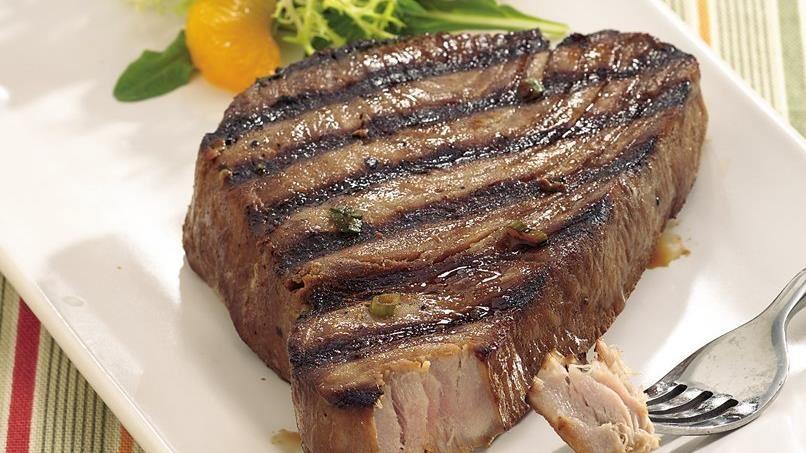 Grilled Asian Tuna Steaks