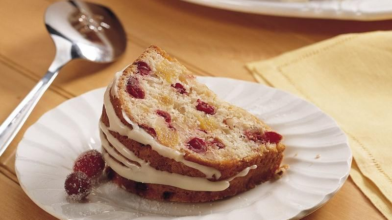 Cranberry-Apricot Coffee Cake