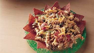 Fiesta Chicken Pasta Salad