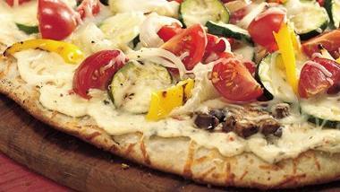 Grilled Fresh Veggie Pizza