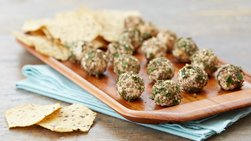 Mini Cheese Balls with Za'atar Seasoning