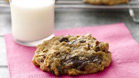 Chocolate Cherry Breakfast Cookies