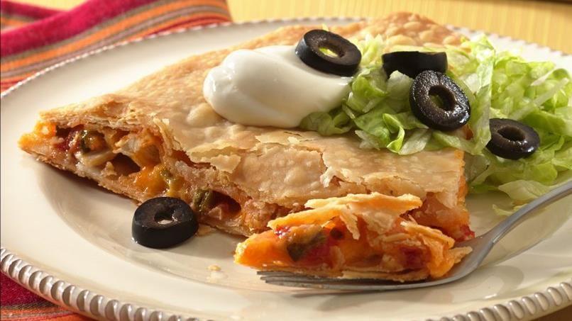 Chicken Taco Wedges