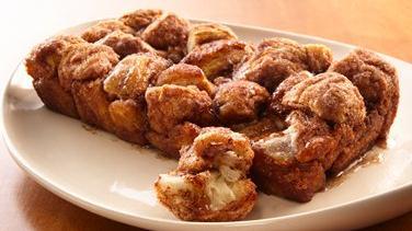 Cinnamon Sugar Pull Apart Loaf