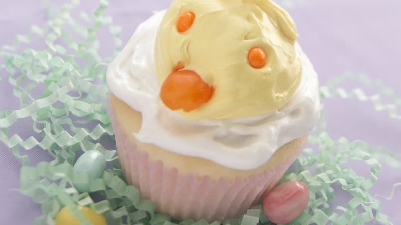 Chirping Chick Cupcakes