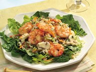 Grilled Shrimp and Wild Rice Salad