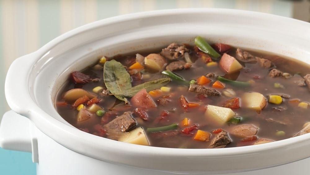 Vegetable-Beef Soup