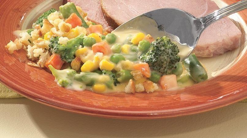 Creamy Vegetable Divan Casserole