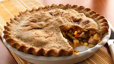Country Beef Pot Pie