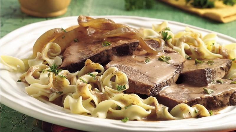 Slow-Cooker Hungarian Beef Pot Roast