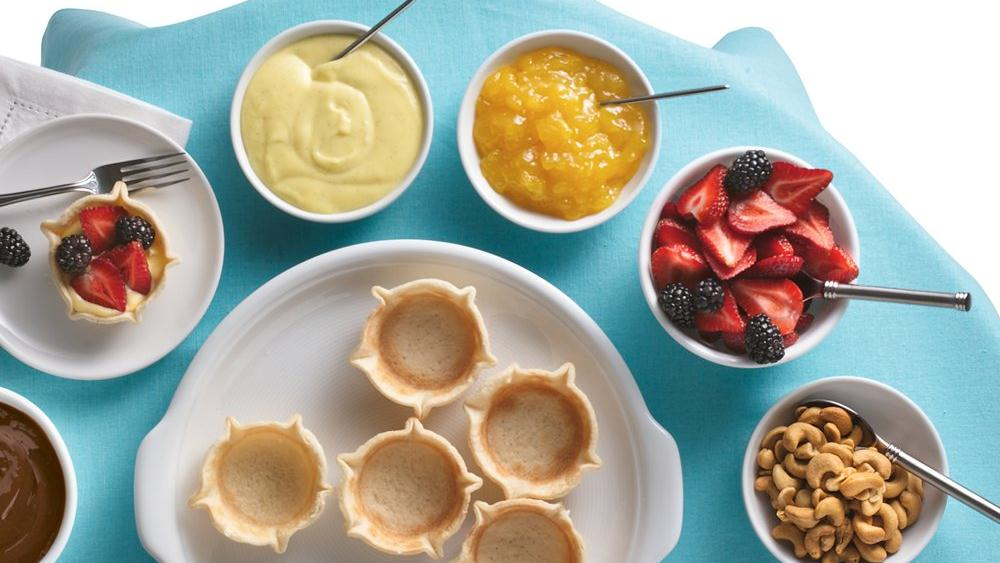 Mini Tart Buffet