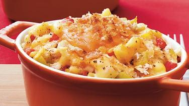 Green Chile Chicken Mac and Cheese