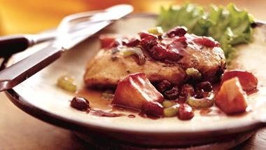 Apple-Cranberry-Sage Chicken