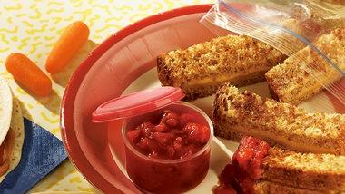 Make-Ahead Grilled Cheese and Salsa